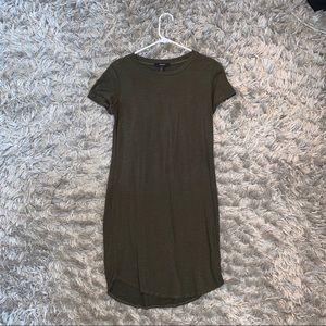 Forever 21 Stripped T Shirt Dress